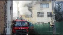 Hendek'te İkinci Katta Çıkan Yangın Korkuttu
