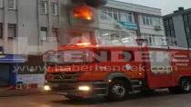 Hendek'te Üçüncü Katta Çıkan Yangın Korkuttu