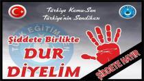 Türk Eğitim-Sen Hendek İlçe Başkanı Benli; Okullarda Şiddete Hayır