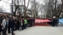 Hendek'li Ülkücüler Şehit Fırat Çakıroğlu'nu Unutmadı