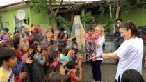 Roman Çocuklarına Dansla El Hijyeni Eğitimi