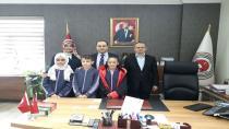 Atikehanım Ortaokulu'ndan Başsavcılığa Ziyaret