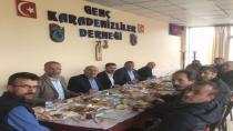 Genç Karadenizliler Başkanları Ağırladı