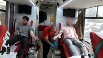 Ülkücülerin Düzenlediği Kan Bağışına Yoğun İlgi