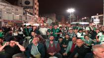 Hendek Meydan'da Sakaryaspor Coşkusu