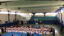 Hendek'te minik karateciler bir üst kuşağa terfi etti