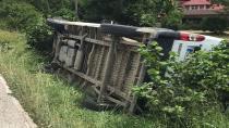 Hendek Küçük Sanayi Yolu Dar Olunca Kaza Kaçınılmaz Oldu