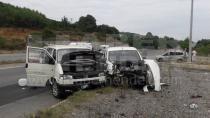 Küçük Sanayide Kaza 6 Yaralı