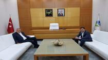 Sofu Başkan Toçoğlu'nu ziyaret etti