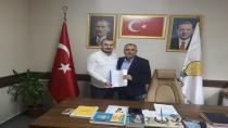 Çiçek AK Partiden Adaylık Başvurusu Yaptı