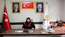 AK Parti Kadın Kolları Başkanı Yılkın Öğretmenler Gününü Kutladı