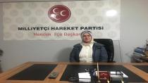MHP Kadın Kolları Başkanı Gürbüz Öğretmenler Gününü Kutladı
