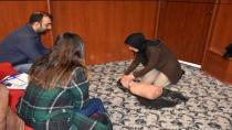 Hendek'te Kursiyerlere İlkyardım Eğitimi