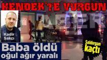 Hendek'te Kanlı Tartışma 1 Ölü 1 Yaralı
