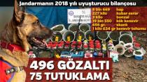 Jandarmanın 2018 Uyuşturucu Raporu