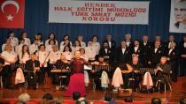 Türk Sanat Müziği Korosundan Coşkulu Konser