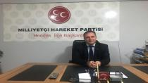 MHP İlçe Başkanı Namlı'dan 50. Yıl Mesajı