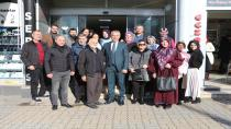 Babaoğlu Plaza Esnafıyla Kahvaltı Yaptı
