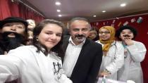 ŞEHİT AHMET ÖZSOY İMAM HATİP ORTAOKULUNDA DOKTOR ÇILDIRDI
