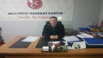 MHP İlçe Başkanı Namlı'dan Polis Haftası Mesajı