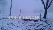 Yükseklere Kar Yağdı. Doğa Tutkunları Dikkat