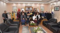 Çölyaklılar Babaoğlu'nu Ziyaret Etti