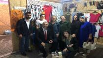 Babaoğlu Ramazan Çarşısı'nı gezdi