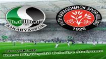 Sakaryaspor'un Final Maçının Yeri belli oldu