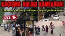 Hendekte Deprem (3)- Kaçış Anları Kamerada