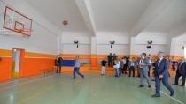 Açılışta Basket Oynadılar