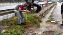 Yağmur suyuna anında müdahale