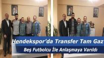 Hendekspor'da Transfer Dönemi Başladı