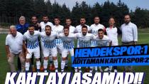 Hendekspor Hazırlık Maçında Kahtaspor İle Karşılaştı