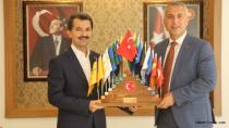 Babaoğlu'ndan Başkanlara Ziyaret