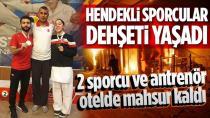 Hendekli Antrenör, İki Sporcumuz ve Milli Takım Şili'de Otelde Mahsur Kaldılar