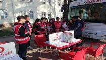 Atike Hanım Anadolu Lisesi Öğrencileri Kızılay için çalıştı