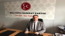 MHP İlçe Başkanı Namlı'dan Yeni Yıl Mesajı