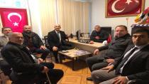 Gelecek Partisi İl Başkanı ve Yönetimi Haberhendek'i Ziyaret Etti