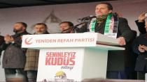 Erbakan Kudüs Mitingi İçin Sakarya'daydı