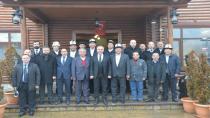 Kırgızistan Heyeti Hendek'te