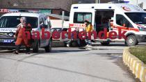 Sanayi Işıklarında Kaza 4 Yaralı