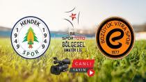 Hendekspor Vitraspor'u Konuk Edecek