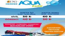 Hendek Aquapark ve Yüzme Havuzu Eylül Ayı Sonuna Kadar Açık