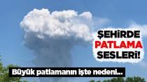 Hendek'te havai fişek fabrikasında patlamalar durmuyor