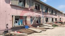 Patlamada Çevre Mahalleler de de hasar oluştu