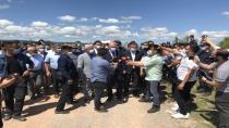 İçişleri Bakanı Soylu patlama bölgesinde
