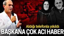 SESOB Başkanı Hasan Alişan'a çok acı haber