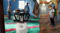 Hendek Belediyesi Camileri Temizlemeye Devam Ediyor