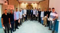 Sofuoğlu, Geçmiş Dönem Ülkü Ocakları başkanları ağırladı