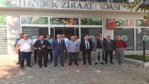 Hendek Ziraat Odası Başkanları Ağırladı